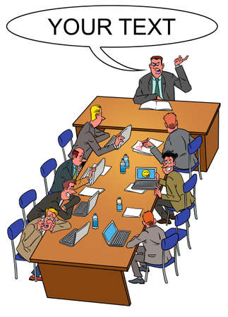 slacker: Boss and office slackers