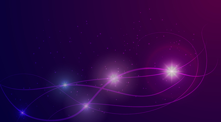 Glowing purple lights icon.
