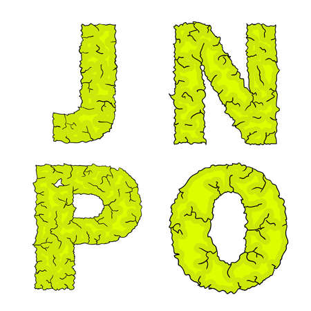 grimy: halloween grimy letters jnpo