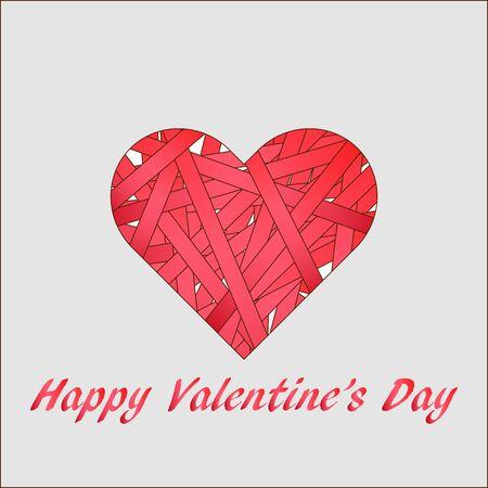 valentine day greeting card 2
