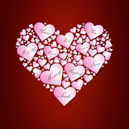 valentines day greeting card 4 Illustration
