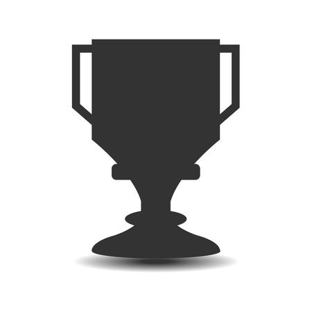 Icone vainqueur de la Coupe Banque d'images - 74125741