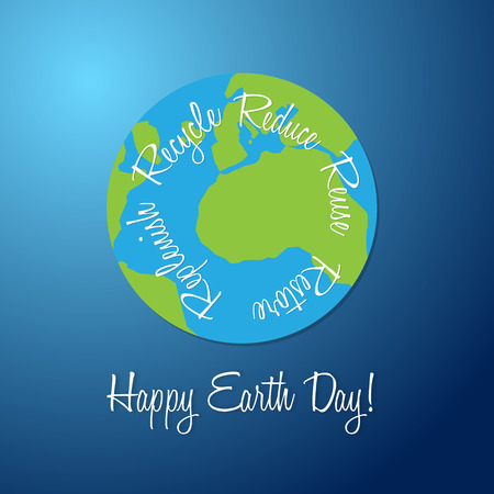 saved: Cool earth day banner