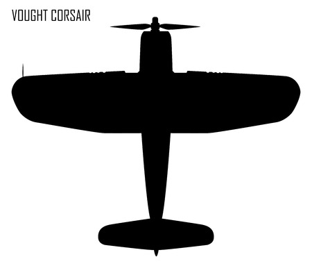allied: World War II - Vought F4U Corsair Illustration