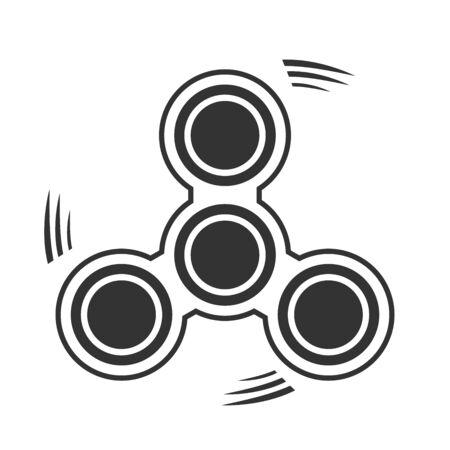 Fidget spinner icoon