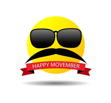 행복 movember 스마일