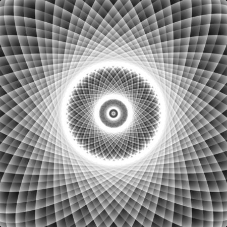 Psychedelic optical spin illusion