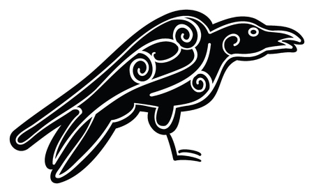 Celtic Inspired Crow