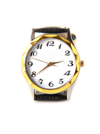 dial plate: Wristwatch on a white background