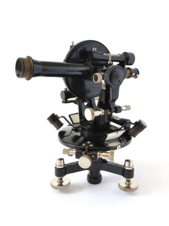 old black theodolite photo