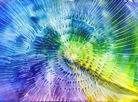 watercolors abstract background in the manner of spirals