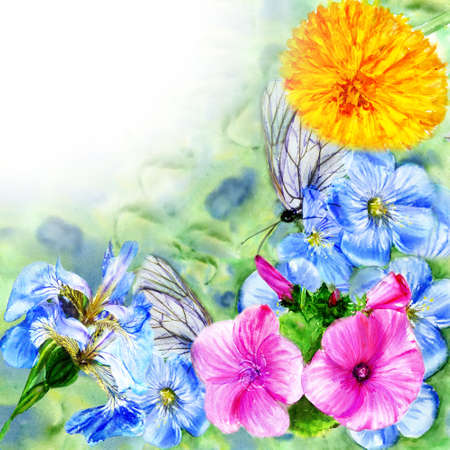 watercolor painting colour Stock Photo - 15812520