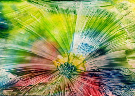 watercolors abstract bright  as background