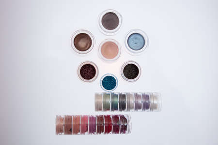 collection of cosmetics for make-up artist.
