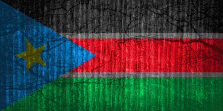 liberation: The flag of South Sudan was adopted 09 july 2005 following the signing of the Comprehensive Peace Agreement that ended the Second Sudanese Civil War. The flag was previously used as the flag of the Sudan Peoples Liberation Movement.