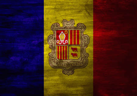 tricolour: The national flag of the Principality of Andorra was adopted in 1866. The flag is a vertical tricolour of blue, yellow, and red with the coat of arms of Andorra in the centre.