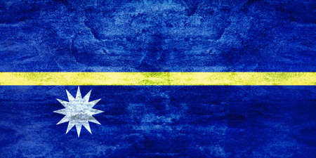 equator: Following the indepencence of Nauru, the flag of Nauru was raised for the first time. The flag, chosen in a local design competition, was adopted on independence day, 31 January 1968. It depicts Naurus geographical position, one degree below the Equator.