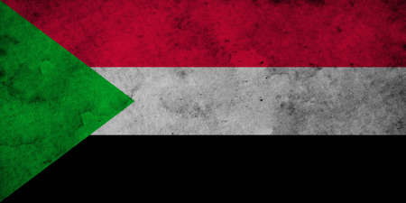 The flag of Sudan was adopted on May 20, 1970, and consists of a horizontal red-white-black tricolor, with a green triangle at the hoist. The flag is based on the Arab Liberation Flag shared by Egypt, Iraq, Syria, and Yemen, that uses a subset of the Pan-