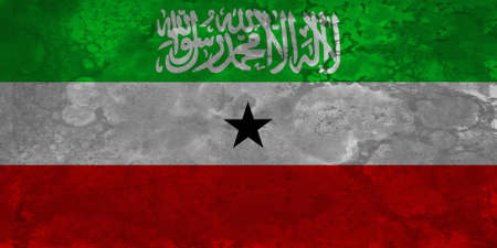 internationally: The flag of Somaliland is used in Somaliland, a self-declared republic that is internationally recognized as an autonomous region of Somalia. Having established its own local government in 1991, the regions self-declared independence remains unrecognized Stock Photo
