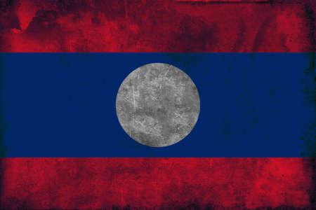 ラオスの国旗は、1975 年 12 月 2 日に採択されました。フラグは、1945年-46 の短命のラオス アマタ政府によって以前使用されていたし、Pathet Lao.The で