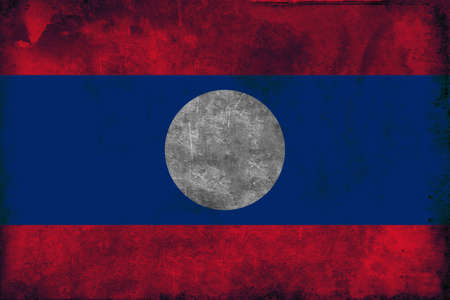 previously: The flag of Laos was adopted on December 2, 1975. The flag had previously been used by the short-lived Lao Issara government of 1945-46, then by the Pathet Lao.The national flag of Laos was adopted in 1975, when the country became a peoples republic. It  Stock Photo