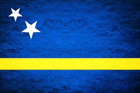 キュラソーのフラグは、2010 年の解散まで 1984 年からキュラソー国としてオランダ領アンティル諸島内の島領域を表します。フラグは、オランダの国
