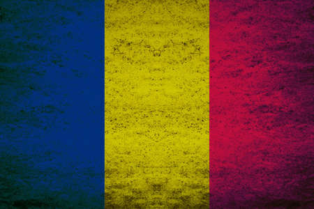 avoid: The national flag of the Republic of Chad is a vertical tricolor consisting left to right of a blue, a yellow and a red field. Blue was substituted for green to avoid confusion with Mali. The basic design is the same as that of the flag of Romania, and th