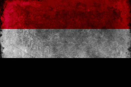 unified: The Flag of Yemen was adopted on May 22, 1990, the day that North Yemen and South Yemen were unified. The flag is essentially the Arab Liberation Flag of 1952, introduced after the Egyptian Revolution of 1952 in which Arab nationalism was a dominant theme Stock Photo