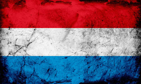 between: The flag of Luxembourg consists of three horizontal stripes, red, white and blue, and can be in a 1: 2 or 3: 5 ratio. It was first used between 1845 and 1848 and officially adopted on June 23, 1972. Luxembourg had no flag until 1830, when patriots were ur