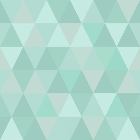 Very light seamless pattern of triangles of cold winter hues. Gentle shades Иллюстрация