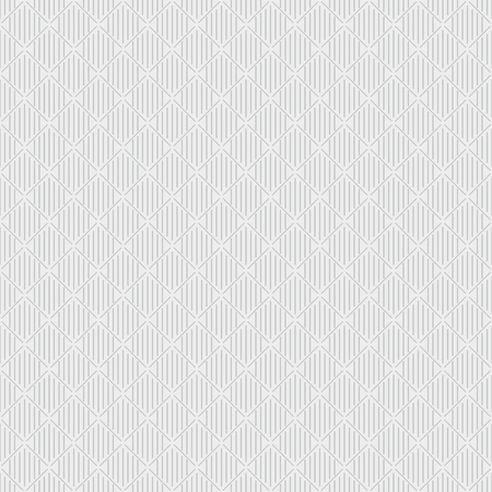 Light seamless geometric pattern. Gray diogonal and vertically lines on an almost white background. Abstraction Illustration