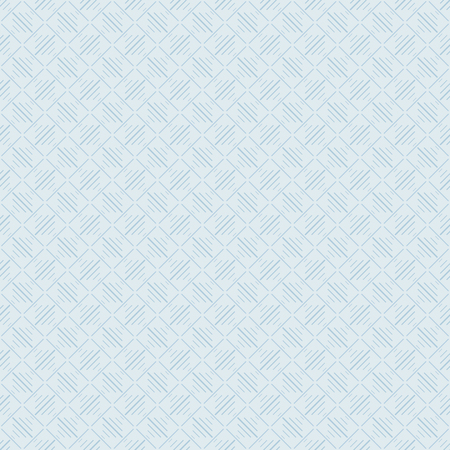 Light blue seamless pattern of lines. Squares and inclined lines. Tile, mosaic. Light shades Ilustração