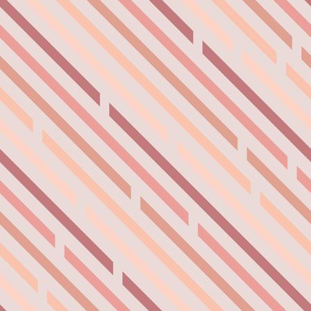 Modèle sans couture. Lignes obliques avec espaces, diagonales. Couleurs pastel. Fond clair. Vecteurs