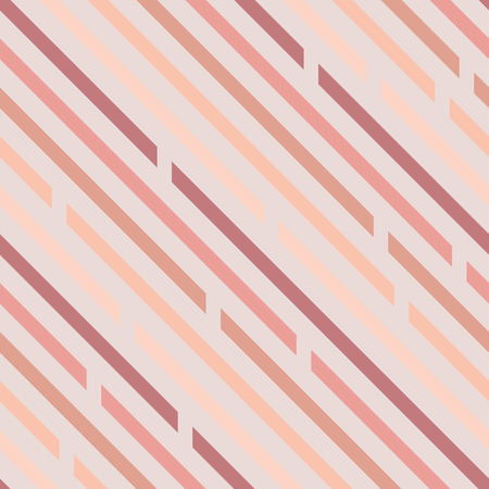 Seamless pattern. Oblique lines with spaces, diagonals. Pastel colors. Light background.