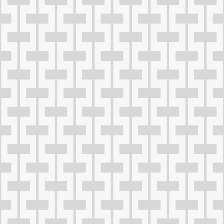 Seamless pattern. Rectangles on vertical lines. Grayscale. Repeating background, simple shapes.