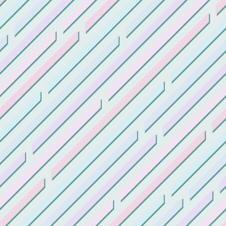 Calm abstract  light pastel background with diagonal lines. Vanilla colors. Seamless pattern. Delicate gamma Illustration
