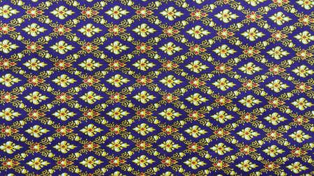 fabric: Thai art on fabric