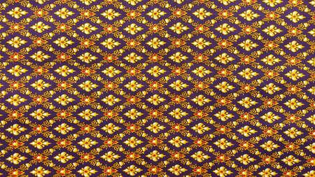 art: Thai art on fabric