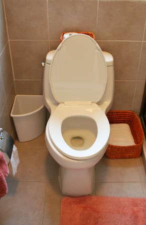 Bathroom view of toilet Stock Photo - 2163645