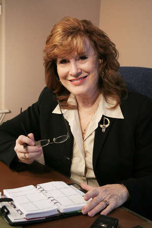 Executive Woman Portrait in office Stock Photo - 2464195
