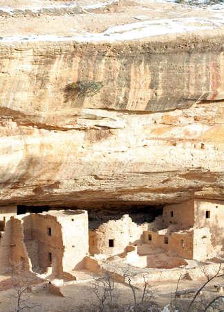 Ancient Stone Ruins at mesa verde national park photo
