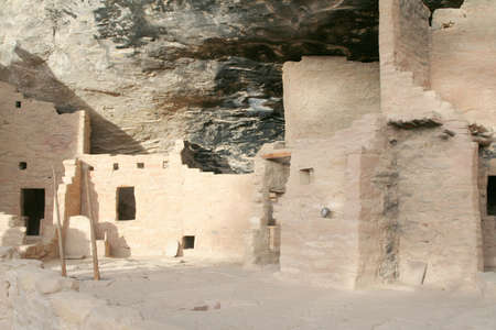 remains: Ancient Stone Ruins at mesa verde national park