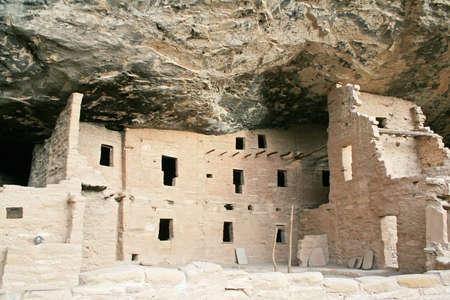 Ancient Stone Ruins at mesa verde national park