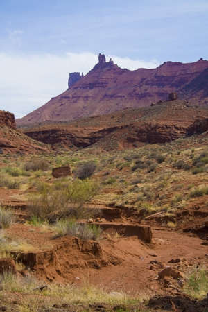 spires: Moab area mountains and spires in Utah USA