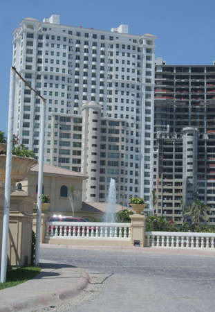 Modern hotels being constructed in Puerto Vallarta Mexico photo