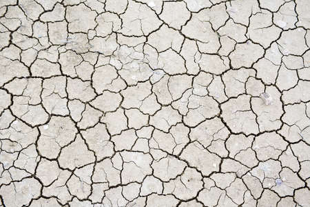 dry cracked soil texture with desert looking drought lines photo