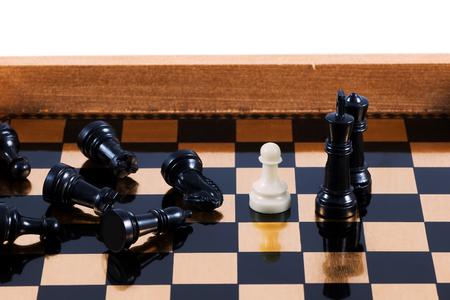 hardcore: hardcore chess pawn Stock Photo