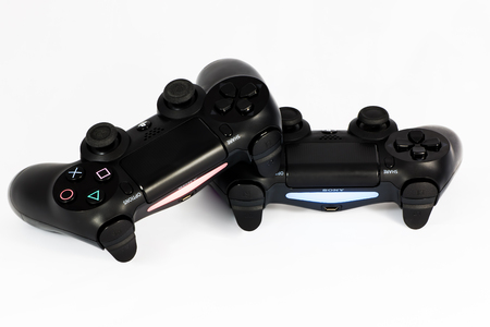 joypad: play station 4 joypad Editorial