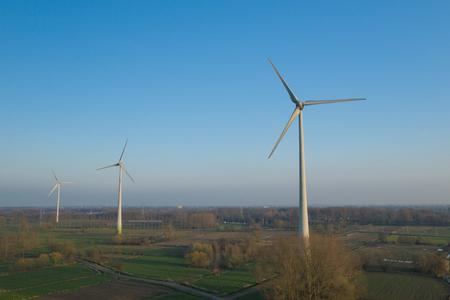 Wind turbines in Belgium Reklamní fotografie