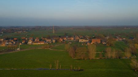 Small village in Flanders Reklamní fotografie